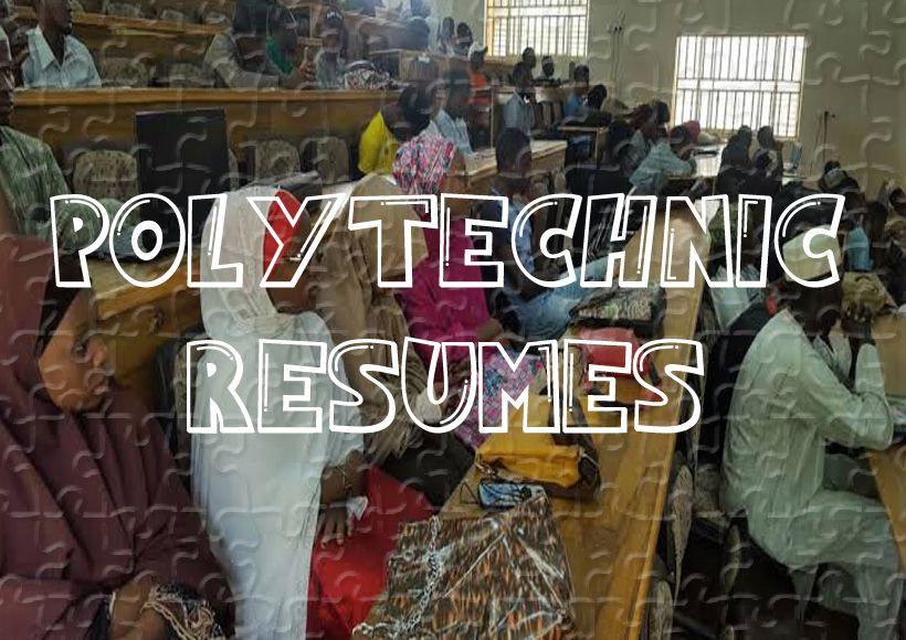 Polytechnic Resumes Academics Activity