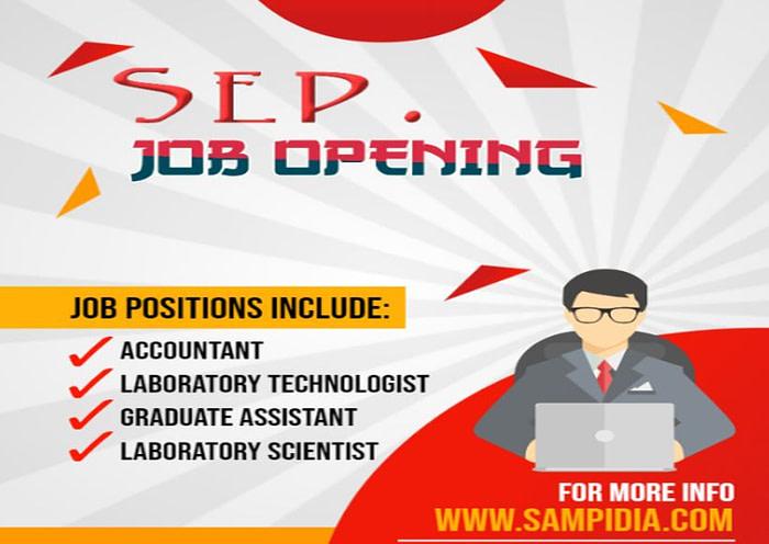 Job Opening Sep