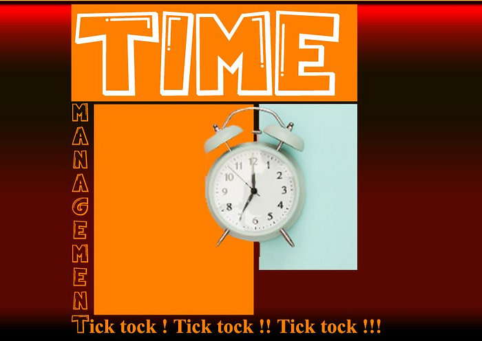 Effective Time Management As a Student