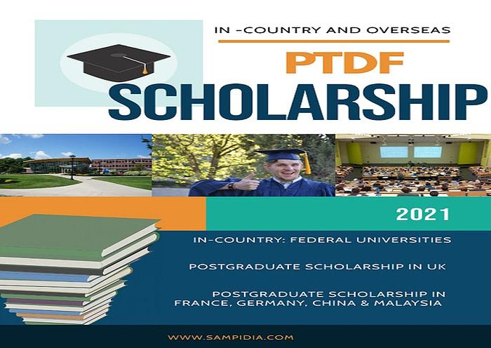 PTDF Scholarship 2021