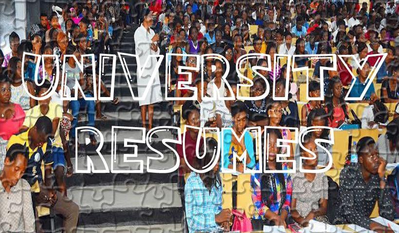 Resumption Notice for University